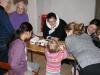 Palmesøndag - vi maler påskeæg i kirken
